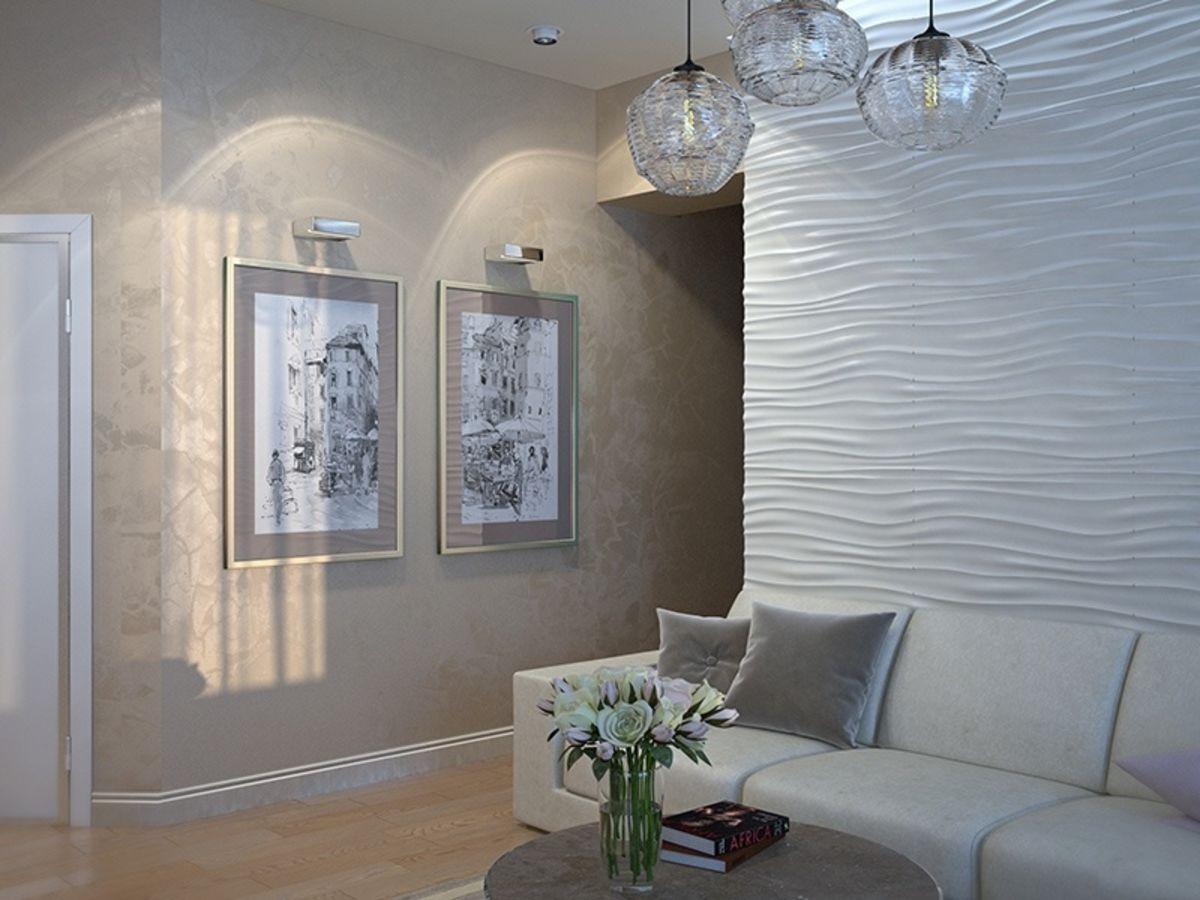 Отделка стен декоративной штукатуркой фото дизайн вариант